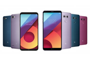 LG G6 now available in three new color options, the Q6 gets two new color variations too