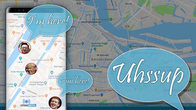 """Samsung Marken """"Uhssup"""" in Europa für App, die Ihren Standort in Echtzeit"""