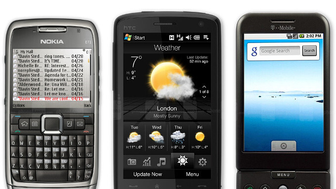 6 great smartphones from 10 years ago (2018 edition)