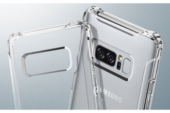 Best clear cases for Samsung Galaxy Note 8