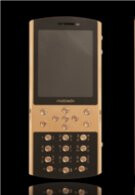 Mobiado Classic 712GCB luxury phone flaunts large sapphire crystal plates & 24K gold