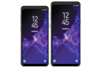Leaked photos show several components belonging to the Samsung Galaxy S9/S9+