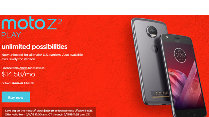 If Youre Searching For A Valentines Day Gift Motorola Has Couple Of Offers That You Might Want To Consider First Off Theres The Moto Z2 Play