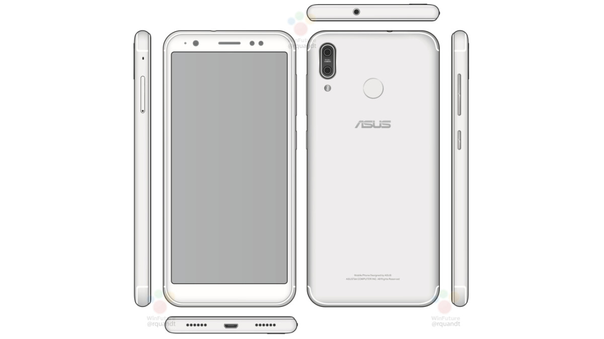 Asus ZenFone 5 smartphone with 18:9 display shows up in leaked images