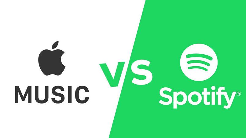 Apple Music wird Spotify bald als Abo-Musikstreamer Nummer Eins in den USA