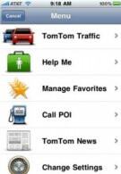TomTom iPhone app jumps to version 1.3 - adds Google Local Search & real-time traffic