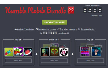 Humble Mobile Bundle 22 costs just $5 and includes 8 great games