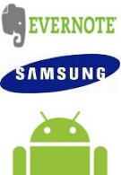 Evernote expected to be installed on select Samsung Android phones