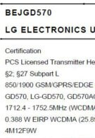 LG coming to T-Mobile with the GD570 that supports the AWS bands?