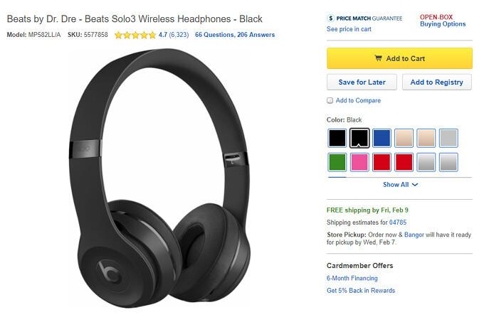 Beats Solo3 Headphones On Sale At Amazon And Best Buy Phonearena