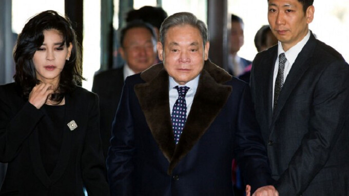 Samsung Electronics Chairman Lee is named by South Korean police as a possible tax evader-again