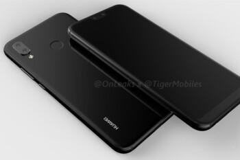 Huawei P20 Lite renders depict an iPhone X-esque notch