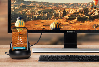 Unannounced Samsung DeX Pad leaks out, brings a Galaxy S9 with it