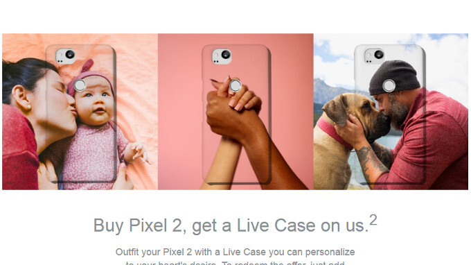 Google's Valentine's Day deals include free Pixel 2 Live Cases, savings on Google Home