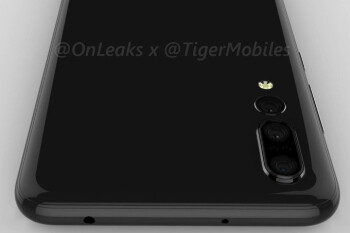 Huawei P20 Plus leaks out in full: notch like on iPhone X and triple camera setup