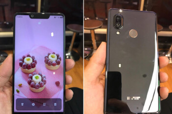 Notch again! Sharp's Aquos S3 leaks with a cutout and vertical cams