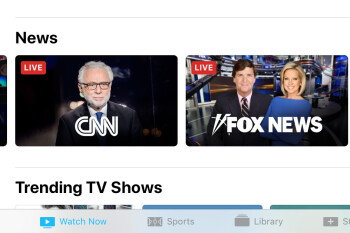 Apple adds 'News' section to its TV app