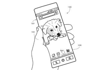 Et tu, Moto? Motorola patents bezel-less flexible OLED display gear