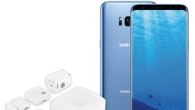 Deal: Buy an unlocked Galaxy Note 8 or S8 and get a free Samsung SmartThings Home Monitoring Kit ($200 value)