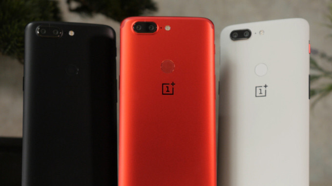 6da073412b6e Lava Red OnePlus 5T unboxing and first look - PhoneArena