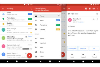 Google releases lighter version of Gmail in the Play Store