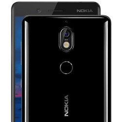 Nokia 7+ live photo shows off the handset's thin bezels and 18:9 aspect ratio