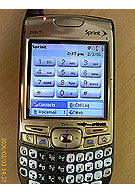 More details about Palm Treo 700p surface the net