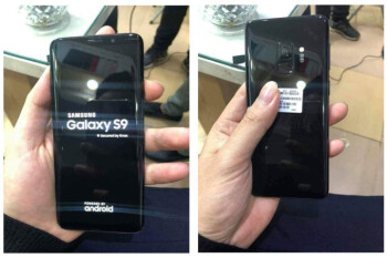 Working Galaxy S9 leaks out in the flesh, looking rather S8-ish
