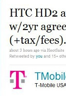 T-Mobile confirms it at last: March 24th launch for the HTC HD2