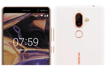 More Nokia 7 Plus images appear