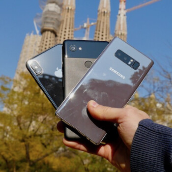 The Big Barcelona Camera Comparison: iPhone X vs Pixel 2 XL vs Note 8