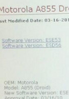Motorola DROID Android 2.1 update to begin tomorrow at noon?