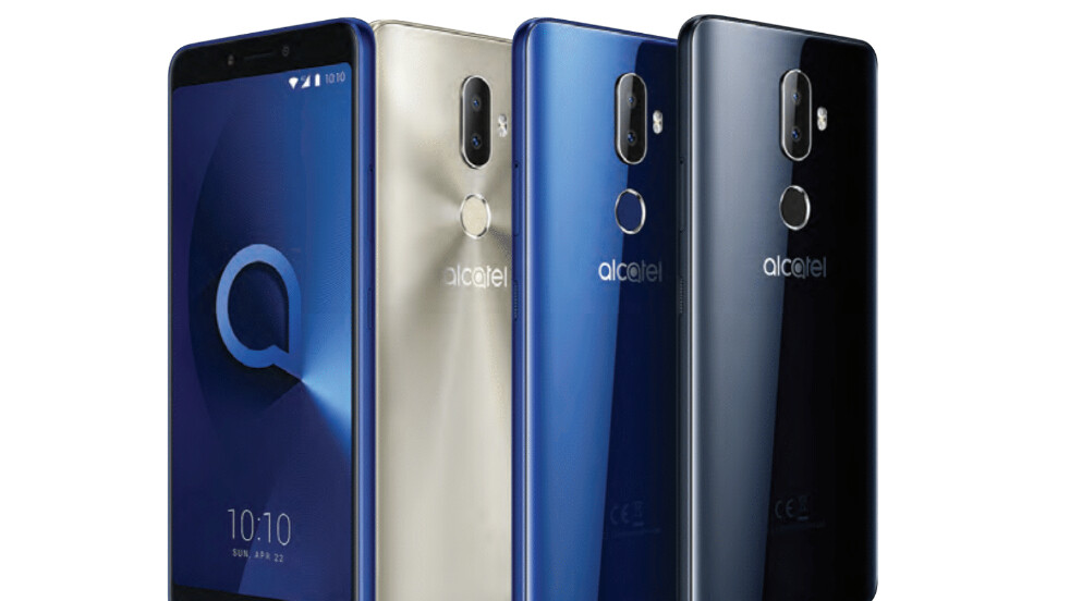 Alcatel's 5 new budget phones: 18:9 screens, special camera features, face unlock, Android Go