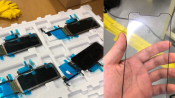 """Alleged 6.5"""" iPhone Xs Plus displays leak straight out of an LG OLED factory"""