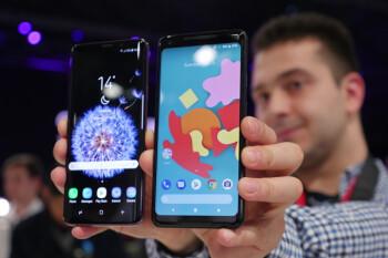 Samsung Galaxy S9 Plus vs Google Pixel 2 XL: first look