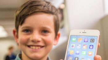 An Android phone for children shown at MWC 2018