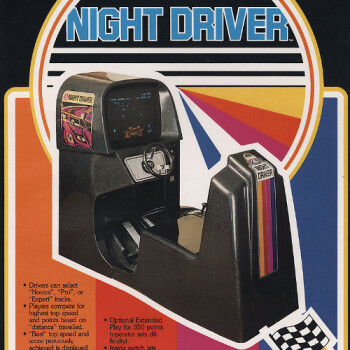 An arcade classic reborn for the new world: Atari Night Driver