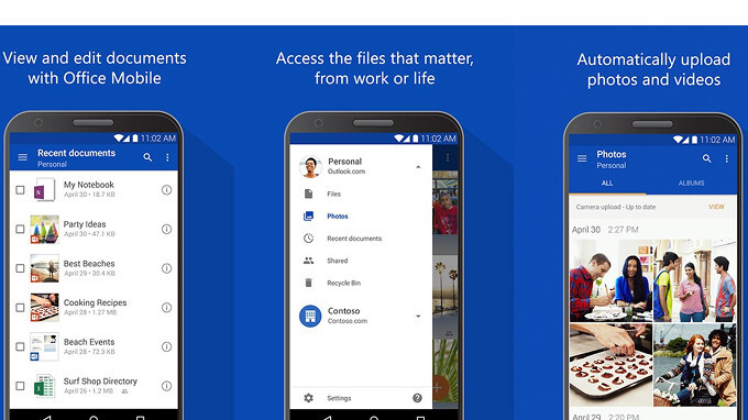 Microsoft's OneDrive for Android gains new camera features