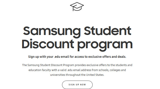 College students get a discount on the unlocked Samsung Galaxy S9/S9+