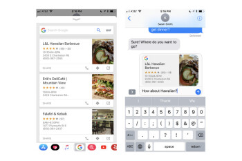 Google Search gets even better on iOS with support for the iMessage extension
