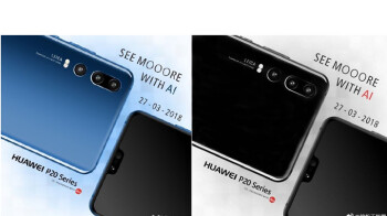 Official Huawei P20 teasers offer a better look at the notch, triple camera