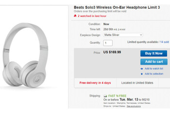 Deal: Apple's Beats Solo3 wireless headphones are nearly half off at Newegg