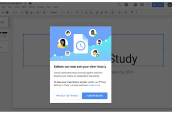 Google announces major changes in G Suite with the addition of Activity dashboard