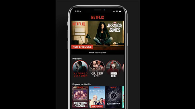 netflix app for android and ios updated with mobile previews