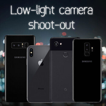 Samsung Galaxy S9+ vs iPhone X vs Pixel 2 XL vs Galaxy Note 8: Low-light camera shoot-out