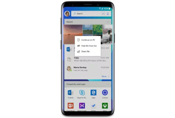 Microsoft wants you to install its Launcher on the Samsung Galaxy S9