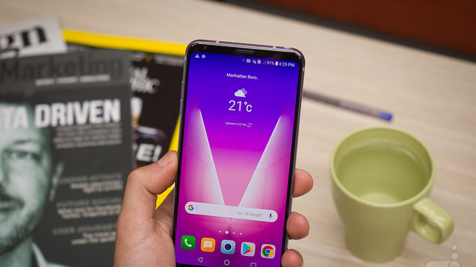 New LG V30 update adds all the AI camera features of the V30S ThinQ
