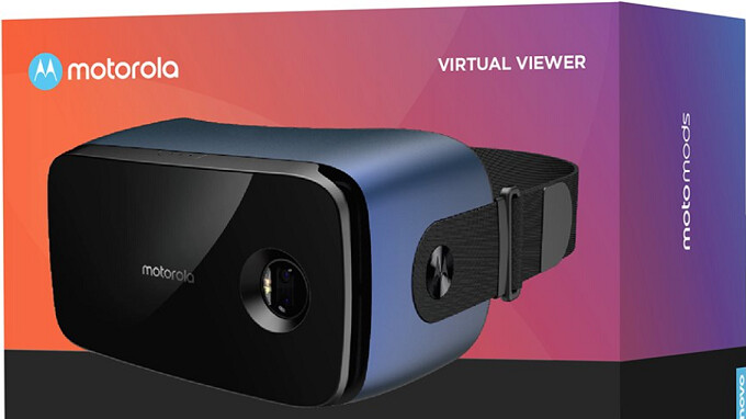 New VR headset Moto Mod, the Motorola Virtual Viewer, surfaces