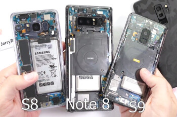 Check out this entirely transparent Galaxy S9 rear mod