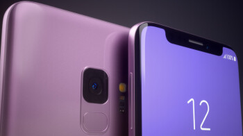 What if Samsung had made the Galaxy S9 with a notch?